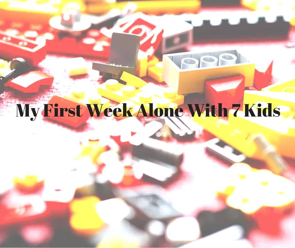 My First Week Alone With 7 Kids