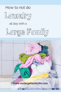 How to control Laundry, laundry pile
