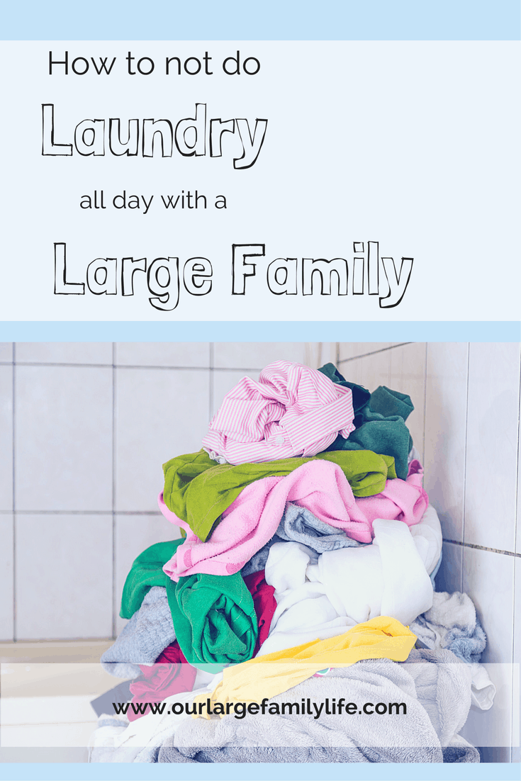 How To Get The Laundry Pile Under Control
