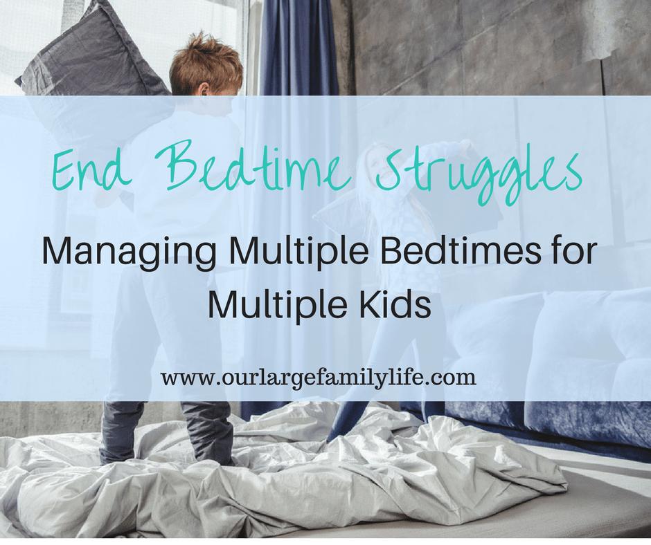 Managing Bedtime For Multiple Kids: Conquer Bedtime Battles