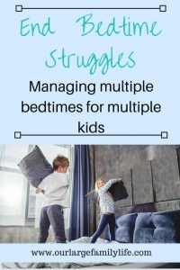 End bedtime battles. Struggling with a bedtime routine for kids can be frustrating, but it doesn't have to be. You can conquer bedtime even with multiple kids room sharing.