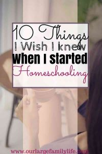 10 Things I wish I knew I started homeschooling. Homeschooling is a journey, here are some things I've learned along the way. My homeschool journey would've had more joy from the beginning if I knew these things.