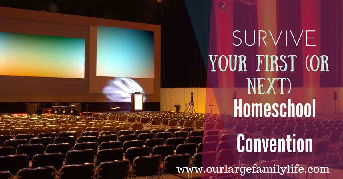 Survival Tips for Attending Your First (or next) Homeschool Convention