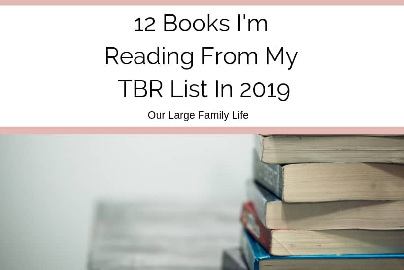 12 Books I'm Reading From My TBR list in 2019