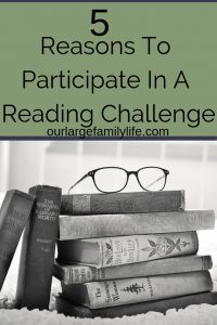 Do you love reading? Maybe you read so much you don't think a reading challenge would benefit you. As an adult, reading challenges a great way to read more and read widely. Check out these 5 reason to participate in a reading challenge, even if you are already a book worm!
