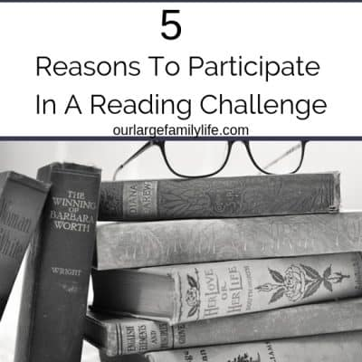 5 Reasons To Participate In A Reading Challenge