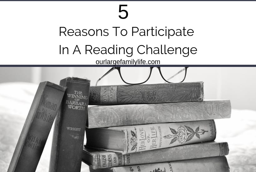 Reading challenges are a great way to read new books.