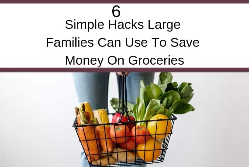 Grocery money saving hacks