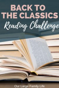 """Are you looking for a reading challenge to complete in 2019? Check out the Back To The Classics Challenge. It's a great way to read some of those books that """"everyone"""" says you should read. Find out the rules and books I picked for 2019."""