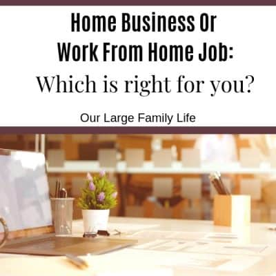 Work From Home Job or Home Business: Which Is Right For You?