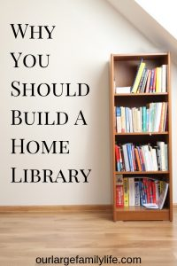 Are you a book hoarder? You're just a library-builder! Find out why it is important to fill our homes with good books.