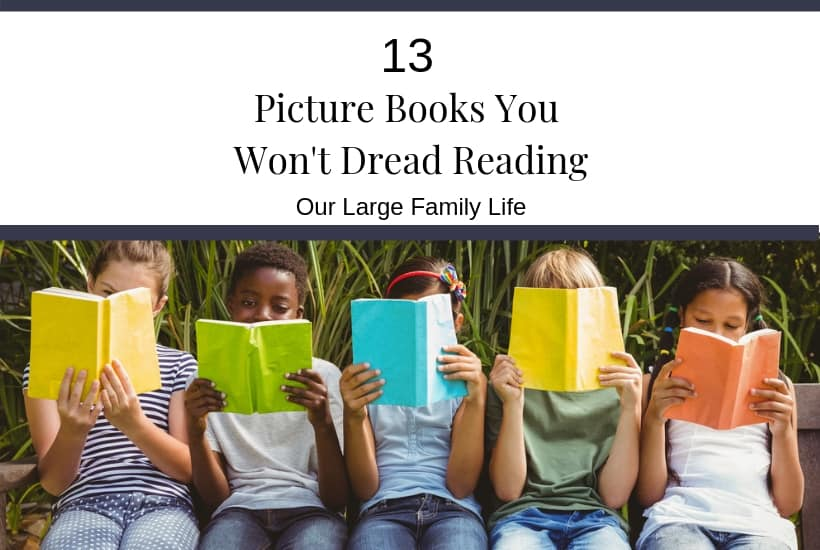 13 picture books you won't dread reading