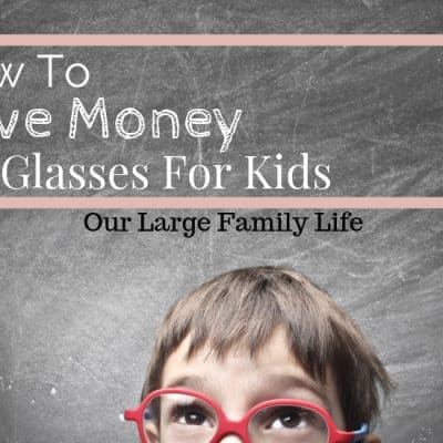 How To Save Money On Eyewear For Kids