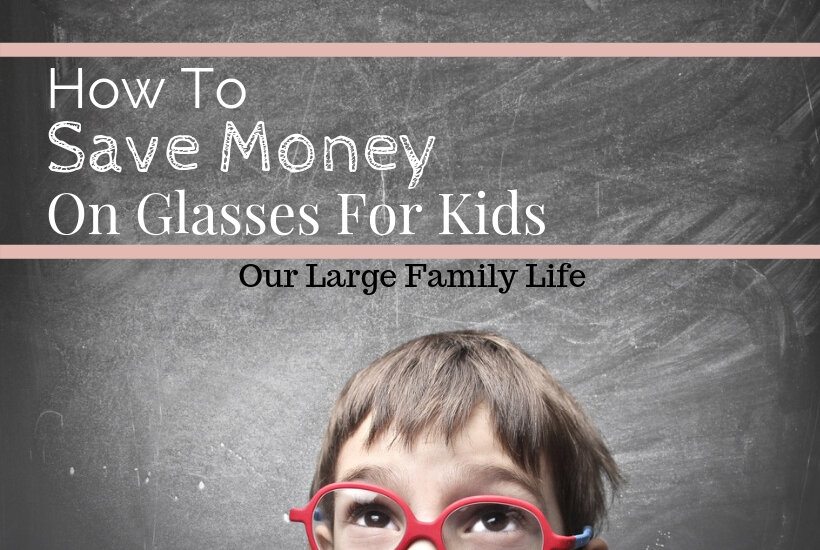 kid in glasses, saving money on kid's glasses