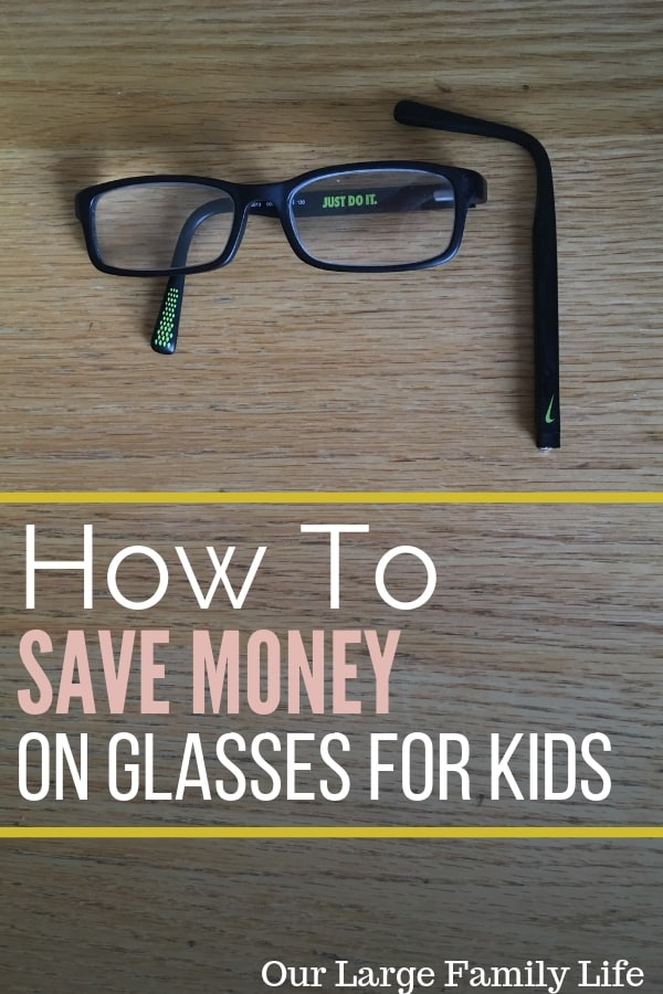 save money on eyeglasses for kids