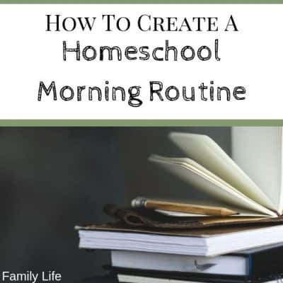How To Create Peaceful Morning Routine For Your Homeschool